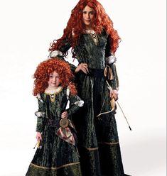 Disney Brave Merida Princess or Vampire Costume Sewing Pattern - Adult/Miss, McCalls 6817, NEW! S-XL