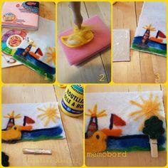 tutorial memobord naaldvilten gemaakt door atelier.naaiz11