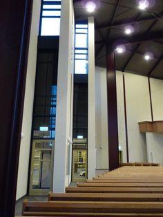 Interior of the Adullam kerk (Adullam Church) in #Barneveld. Used by the Gereformeerde Gemeente (Reformed Congregations). 1.375 Seats.