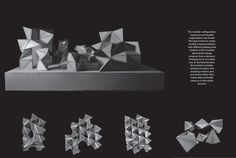 Explorative Systems - Tensegrity + Folded Plate on Behance