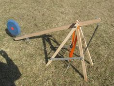 Aerial archery target launcher