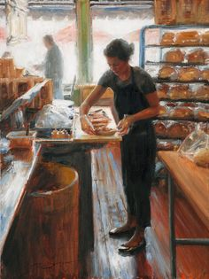 Trent Gudmundsen, Figurative Oil Painter, Waterhouse Gallery