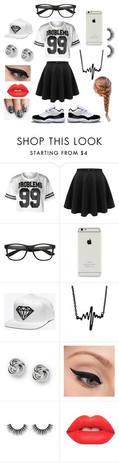 """I got 99 problems"" by nosaj14 ❤ liked on Polyvore featuring Concord, FOSSIL, LORAC, Lime Crime and alfa.K"