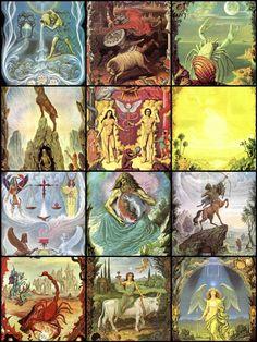 Mosaic Zodiac
