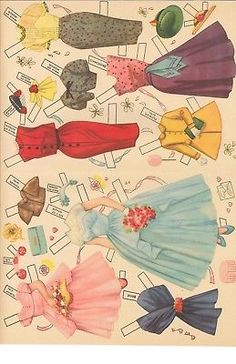 Not a digital reproduction but an HD laser reproduction. If you see the word digital that was in error. You will receive actual sets.nothing digital! Sewing Doll Clothes, Sewing Dolls, Diy Paper, Paper Crafts, Kid Crafts, Wedding Doll, Vintage Paper Dolls, Paper Folding, Paper Toys