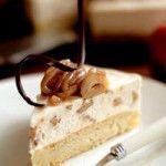 Photo de la recette : Gâteau aux pommes et à la crème de marrons
