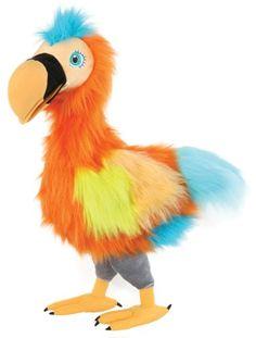 Giant Stuffed Animals | ... Colorful Dodo Bird Animal Themed Quality Plush Puppet Stuffed Animal