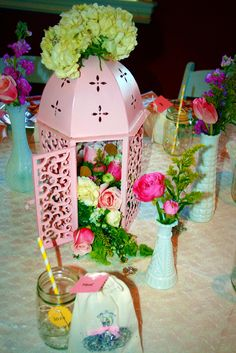 Also kinda like the idea of a bird cage centerpiece. But not this one.