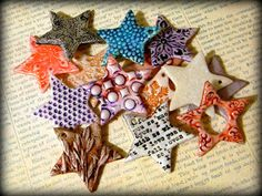saraccino: Catch a star! - Crafty Christmas tutorial link-up