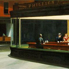Nighthawks by Edward Hopper, my absolute favorite painting.  Would love it in my house someday