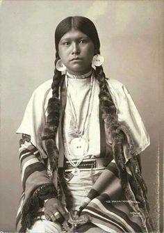 Indiaanse vrouw.