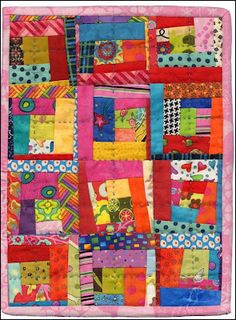 Alzheimer's Art Quilt made by Lori at Humble Quilts