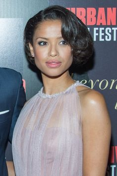 Gugu Mbatha-Raw's Retro Hairstyle by Ted Gibson