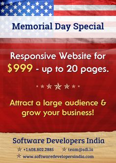 #Entrepreneur #MEMORIALDAYSPECIAL Attract a large audience & grow your #business! Email team@sdi.la