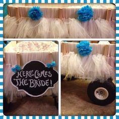 DIY wedding wagon for baby!
