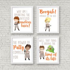 Ghostbusters Printables 8x10 Signs by ERRdesigns