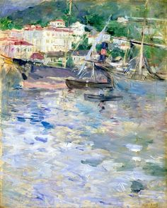 The Port, Nice (1882) Berthe Morisot (by BoFransson)
