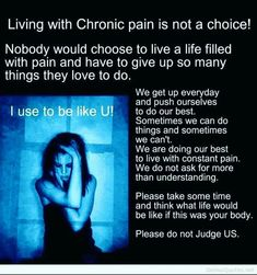 Chronic pain is pain lasting more than 12 weeks. Whereas acute pain is a normal sensation that alerts us to possible injury, chronic pain is very different. Chronic pain persists—often for months or even longer. Fibromyalgia Pain, Chronic Migraines, Chronic Illness, Chronic Pain, Endometriosis, Fibromyalgia Quotes, Lupus Quotes, Fibromyalgia Disability, Migraine Pain