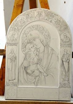 Byzantine Icons, Byzantine Art, Religious Icons, Religious Art, Arte Do Galo, Americana Tattoo, Beautiful Morning Messages, Angel Artwork, Paint Icon