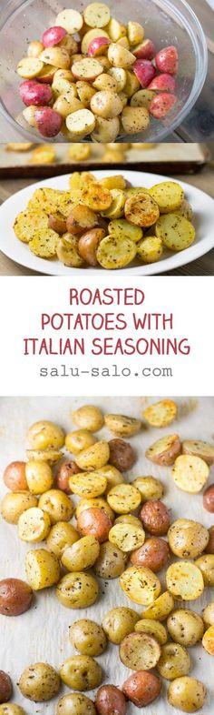 Roasted Potatoes with Italian Seasoning