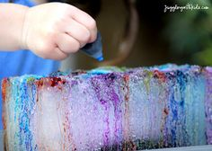 Juggling With Kids: Ice Sculptures