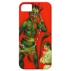 Krampus Punishing Child iPhone 5 Cover