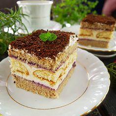 Polish Recipes, Tiramisu, Cooking, Sweet, Ethnic Recipes, Cakes, Kitchen, Candy, Cake Makers