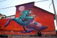 Amaro Abreu, is a Brazilian Street Artist based in Porto Alegre. Amaro is graduated in Visual Arts (University Lutheran of Brazil). He operates in StreetArt scene since 2006, painting and particip…