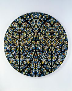 Hirst: South Rose Window, Lincoln Cathedral, 2007.