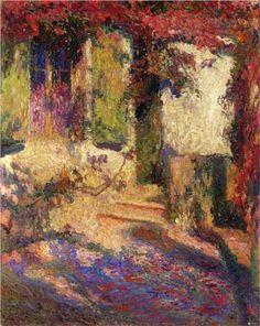 Pergola at the South Door of Marquayrol - Henri Martin
