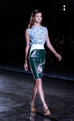 Prada Spring/Summer Fashion Week 2012.
