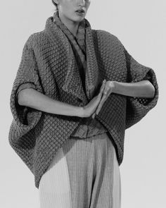 Issey Miyake SS15 feature by Adrien Toubiana & Thomas Cristiani for Drop Magazine