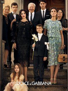 Dolce & Gabbana - Ad campaign 2012