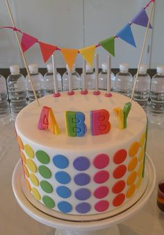 "Photo 1 of 5: Rainbow Disco / Birthday ""Abby's Rainbow Disco Party"" 