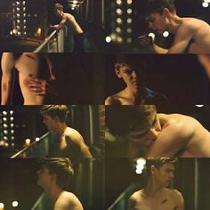 Thomas Brodie-Sangster in the music video for 30 Minute Break by The Luka State