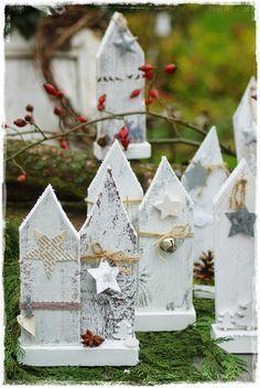 Dekoration aus Holz für Weihnachten - DIY________ for Christmas - # Christmas 2017, Rustic Christmas, Christmas Time, Wood Crafts, Diy And Crafts, Diy Adornos, Holiday Crafts, Holiday Decor, Theme Noel