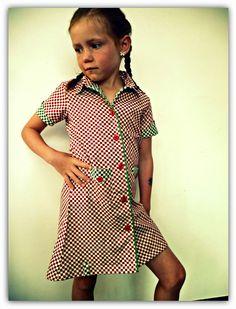 Klijntje (Zonen09, Theo + A-lijntje) Ik ben zo fan van de hemd-jurkjes!