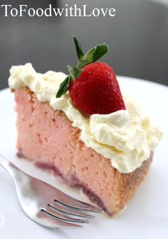 "Strawberry ""Milkshake"" Tres Leches Cake"