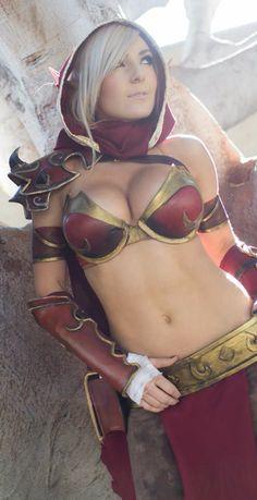 Jessica Nigri @ Blizzcon 2013: #cosplay #blizzcon