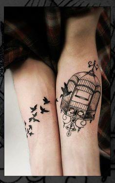 bird caged freed tattoo - Google Search