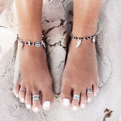 ≫∙∙boho, feathers + gypsy spirit∙∙≪ anklets and toe rings