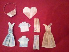 Origami - Money Folding - present