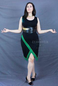 Mischief Sheath Dress by elhofferdesign on Etsy