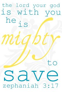 """""""He is mighty to save, He is mighty to save. Forever, author of salvation, He rose and conquered the grave, Jesus conquered the grave."""""""