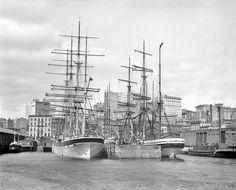 Shorpy Historical Photo Archive :: Nautical New York: 1900