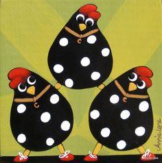 cuadro juego gallinas 2