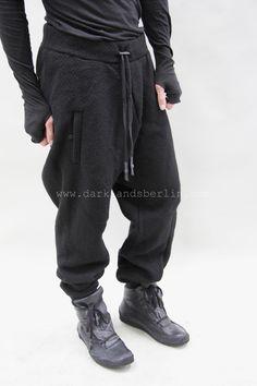 Boris Bidjan Saberi – Cooked wool drawstring trousers