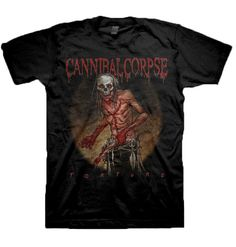 Cannibal Corpse Torture Butcher TShirt for $19.95 - NOW ON SALE FOR $10.00  http://www.jsrdirect.com/merch/cannibal-corpse/torture-butcher-tshirt  #cannibalcorpse #metaltees #metaltshirts #bandtees #torture #butcher #jsronsale