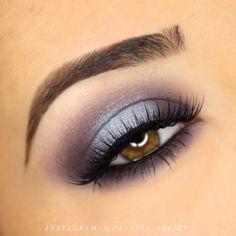 Lila und Blau Halo Smokey Eye Makeup Tutorial - Make up Smokey Eye Makeup Tutorial, Eye Makeup Tips, Makeup Goals, Makeup Geek, Skin Makeup, Makeup Inspo, Eyeshadow Makeup, Makeup Inspiration, Beauty Makeup