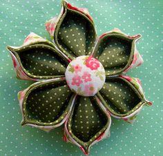 Flor de tecido | Flickr - Photo Sharing!